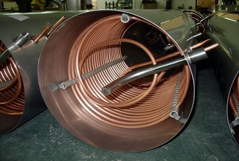 Copper Heat Exchanger Copper Heat Exchangers Plate Type